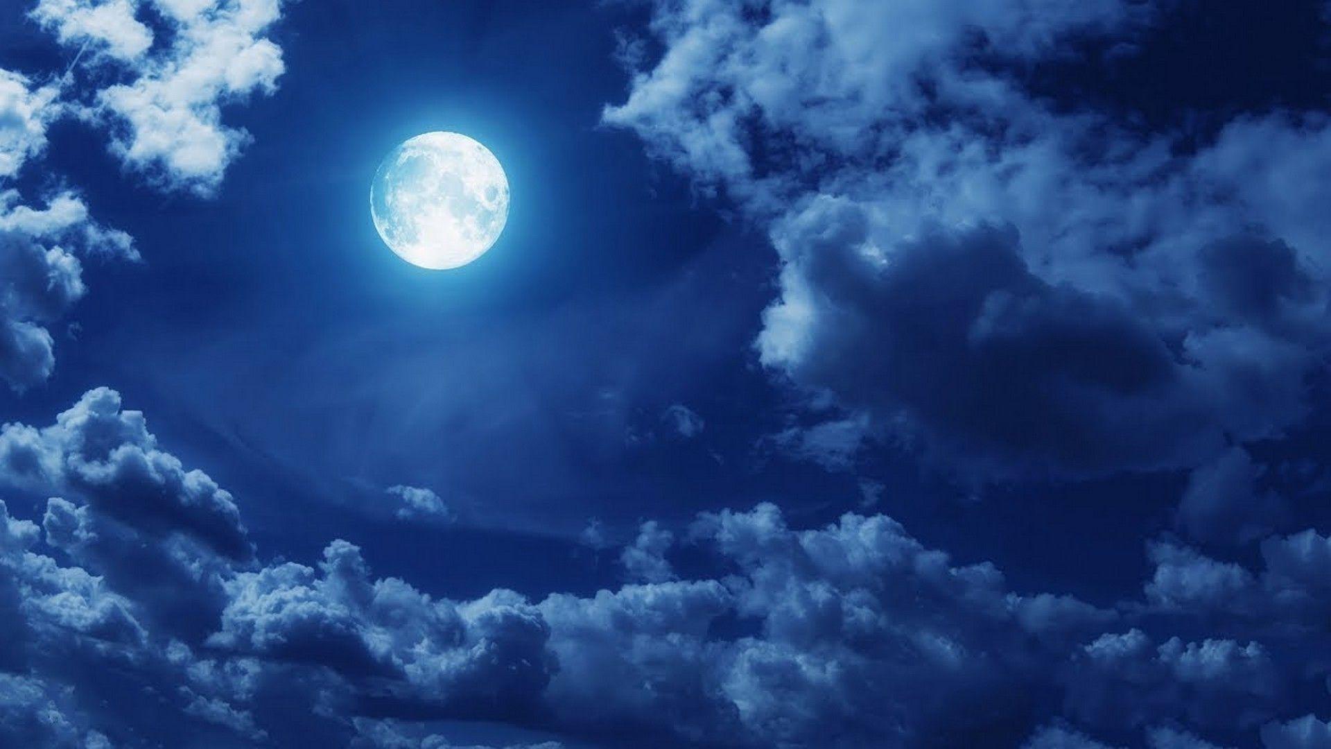 Hd Wallpaper Super Moon Best Hd Wallpapers Moon Clouds Clouds Night Sky Moon