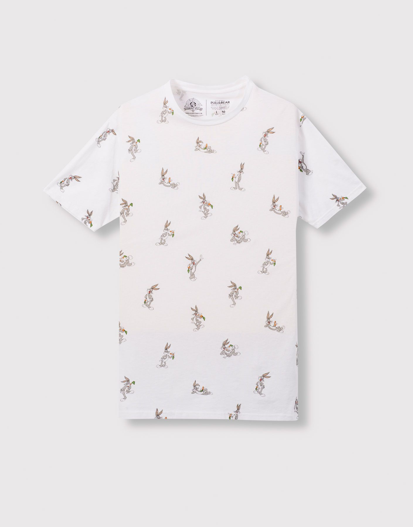 e09628a5c ALL OVER LOONEY TUNES PRINT T-SHIRT - T-SHIRTS AND POLO SHIRTS - MAN -  PULL&BEAR Indonesia