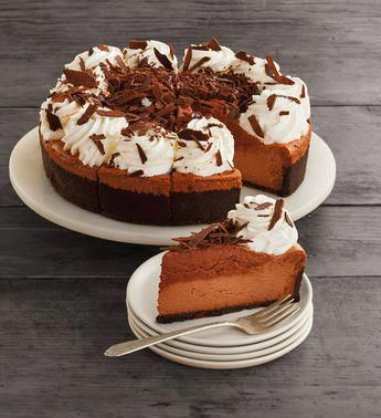 The Cheesecake Factory® Chocolate Mousse Cheesecake - 10 #cheesecakefactoryrecipes