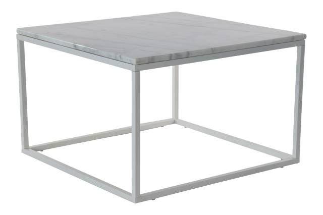 Accent Sofabord 75x75 cm - marmor wohnzimmer tische