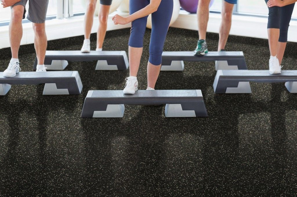 Ecofriendly Rubber Rolls Flooring for Gym Rubber