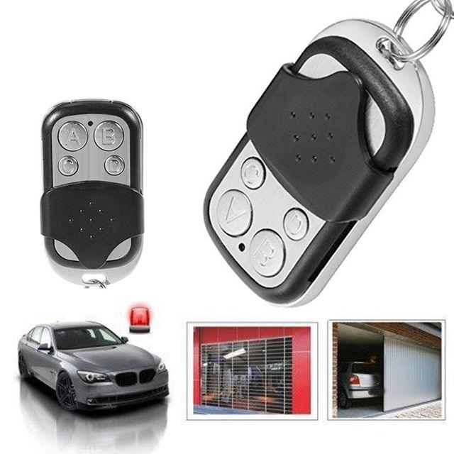 433 Mhz Rf Code Remote Control Copy 4 Channel Cloning Duplicator Key Fob A Distance Learning Electr Garage Door Controller Electric Garage Doors Remote Control