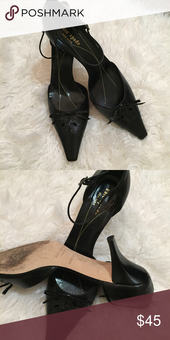 """Kate Spade Pointed Toe Heels Perfect for work, formal events or parties. Impress your coworkers with the classy heels or make an impression during your first interview. These shoes have a 3"""" heel and are very gently used. kate spade Shoes"""