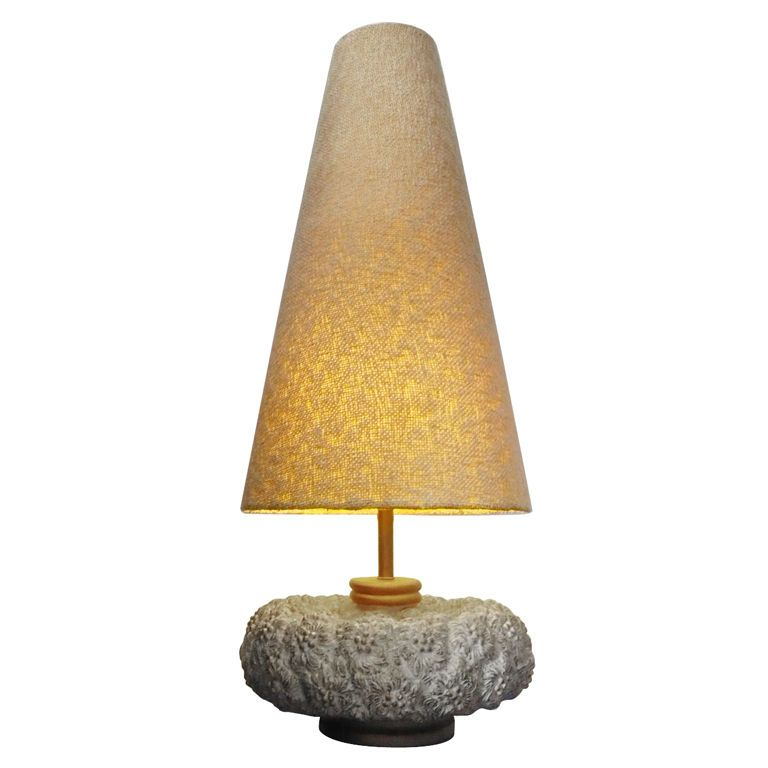 Mid Century Huge And Unique Resin Table Lamp Table Lamp Vintage Table Lamp Resin Table