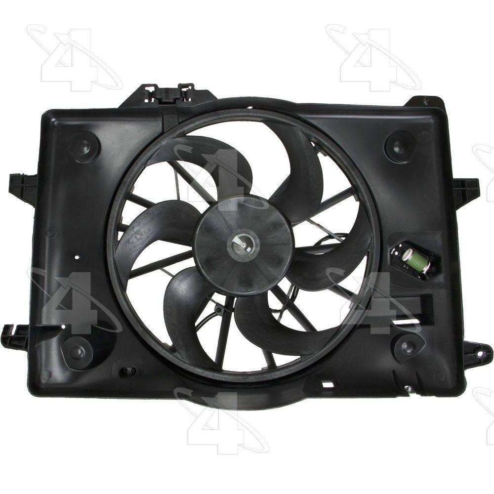 Engine Cooling Fan Assembly Radiator Fan Assembly 4 Seasons 75280