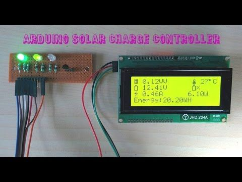 Arduino Solar Charge Controller Version 2 0 With Images