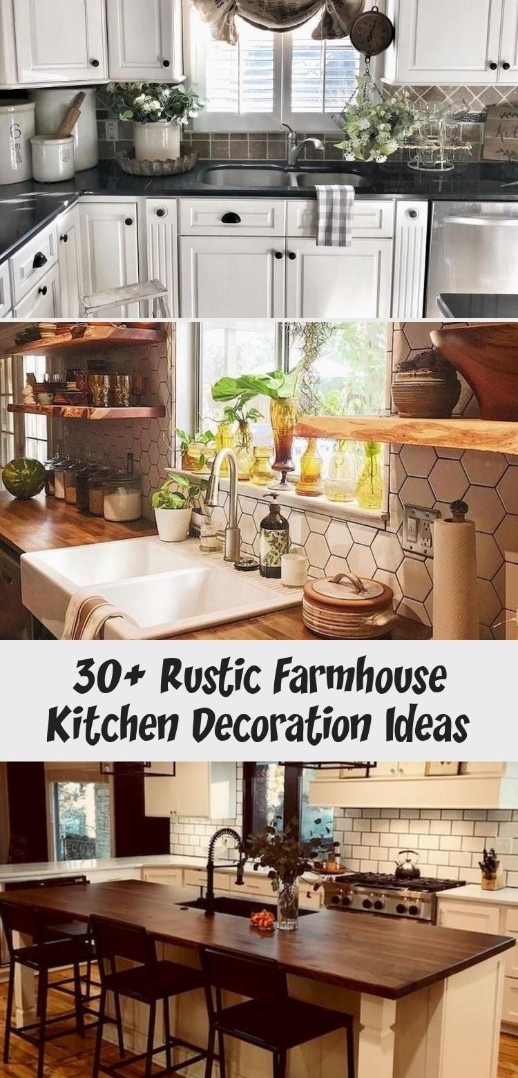 30 rustic farmhouse kitchen decoration ideas ktchn 2020 on kitchens that ll make you want to redo yours id=17299