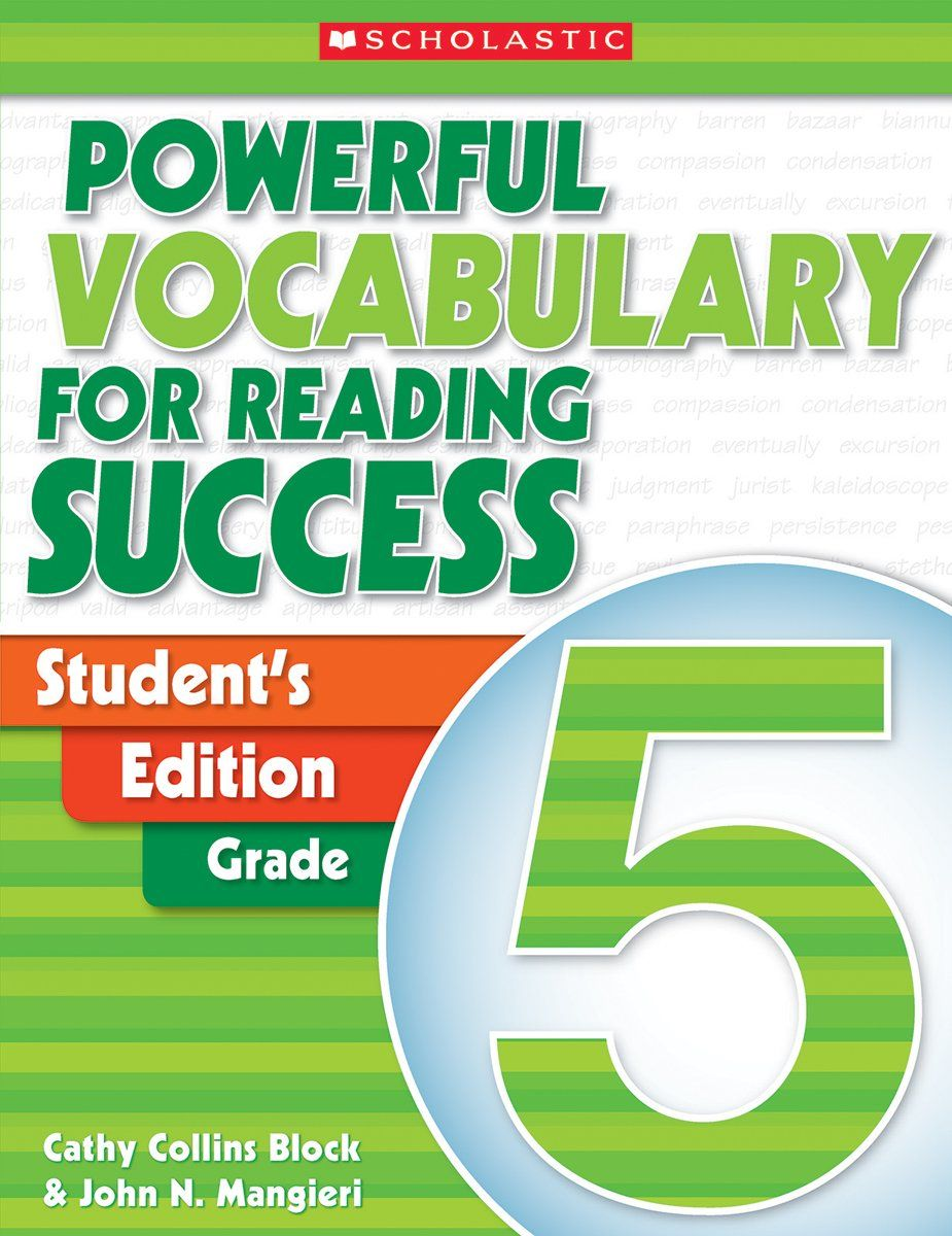 Powerful Vocabulary for Reading Success: Student Workbook, Grade 5 ...