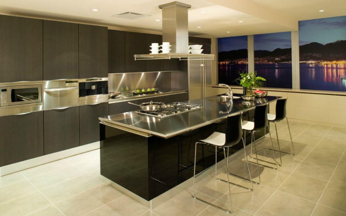 Cocinas integrales buscar con google residencia for Zocalos para cocinas
