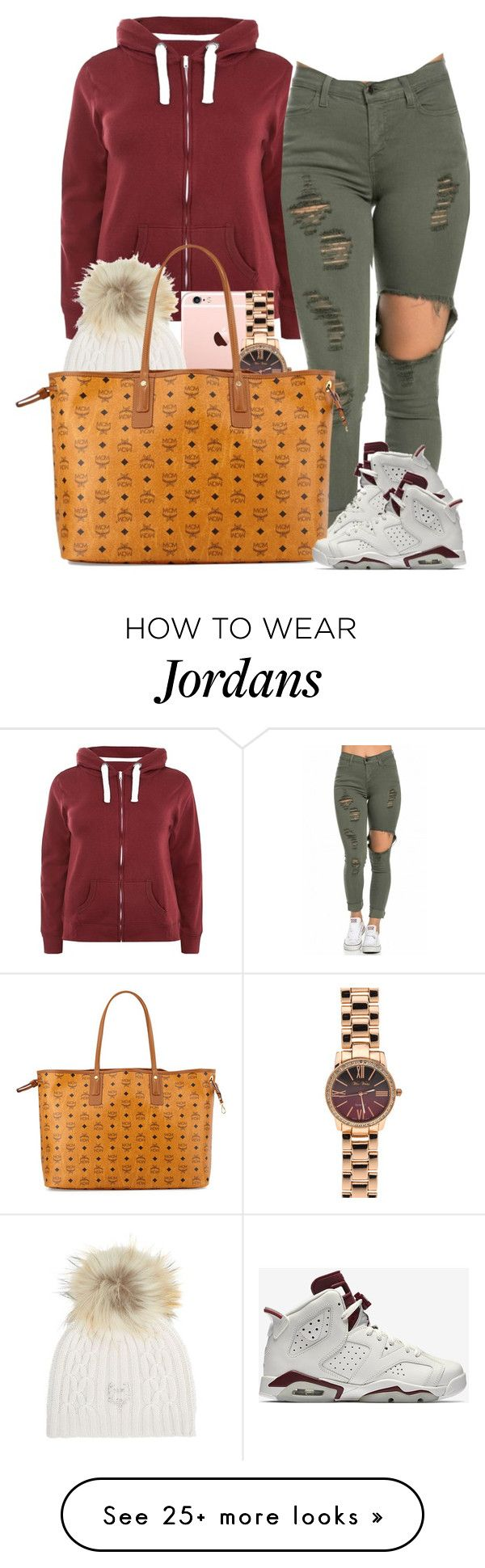 """12 . 26 . 15"" by shellyzz on Polyvore featuring NIKE, M. Miller and MCM"