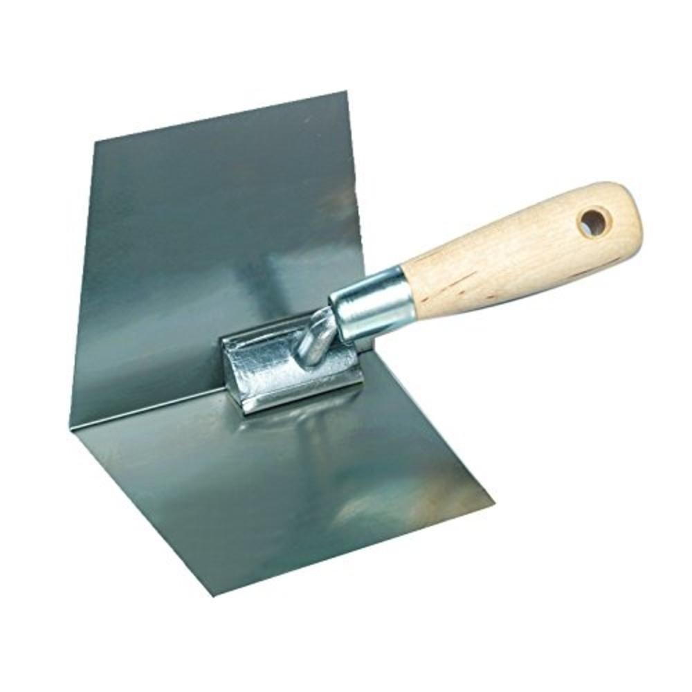 Kraft Tool Co 4 In X 2 In Stainless Steel Inside Corner Trowel With Proform Handle Pl584pf Trowel Stainless Stainless Steel