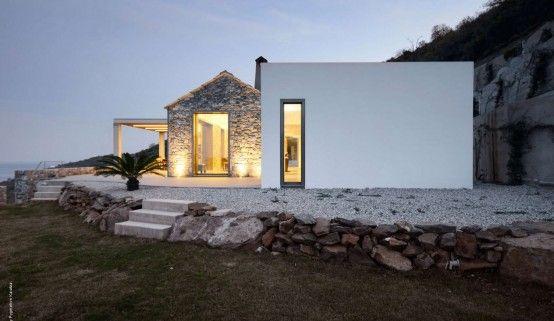 Villa melana greece by studio pi architecture also design rh ar pinterest