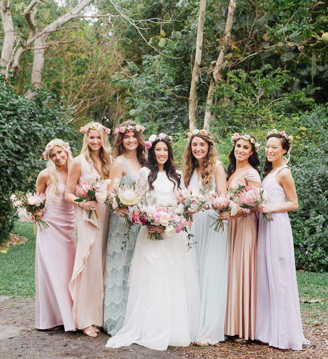 Breathtaking Bohemian Outdoor Wedding Altar: Bohemian Florida Garden Wedding: Brittney + Alex