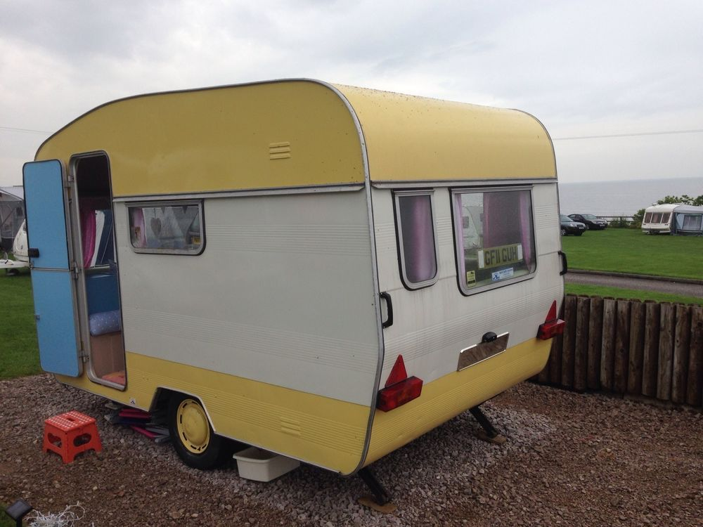 Vintage Retro Classic Caravan 4 Berth Awning Avondale Perle 1977 Diy Caravan Retro Vintage Vintage Caravan