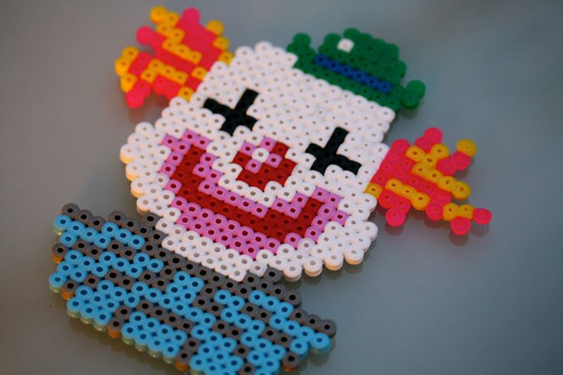 Clown / Hama perler beads