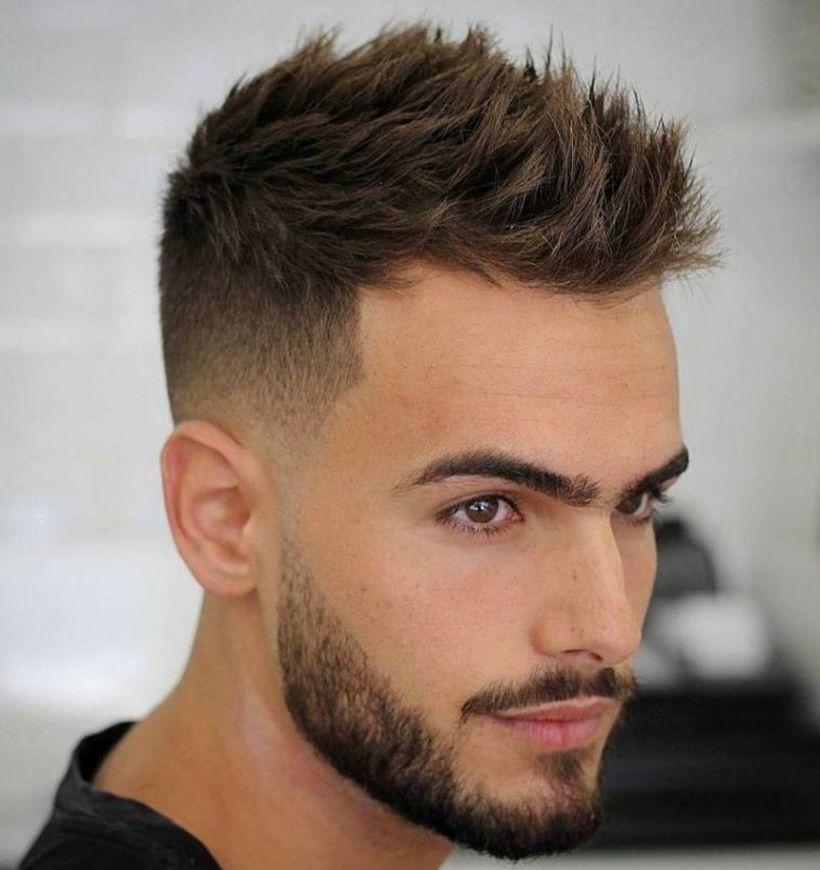 Stylish Short Haircut For Men In Fall 05 Mens Haircuts Short Short Hair Hairstyle Men Thick Hair Styles