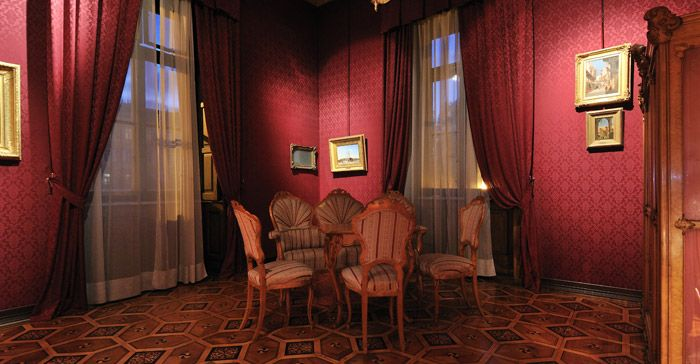 second empire style drawing room - Google Search