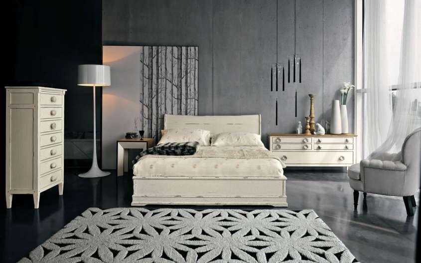 Idee per le pareti della camera da letto - Camera con pareti ...