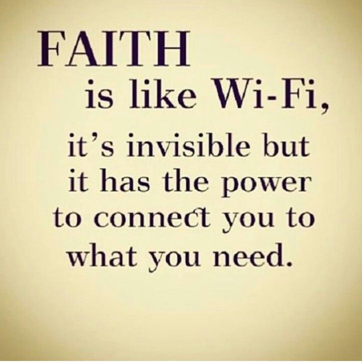 Religious Quotes About Faith Adorable Faith Is Like Wifihallelujah  Youth Group  Pinterest