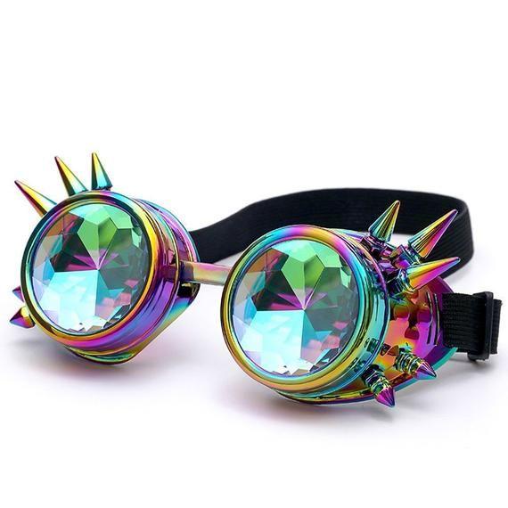 Photo of Kaleidoscope Rave Goggles