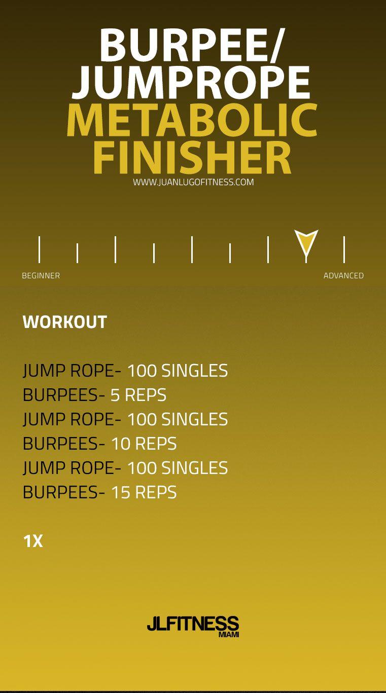 Visual Workouts Jlfitnessmiami Jlfitnessmiami Crossfit Workouts Jump Rope Advanced Workout