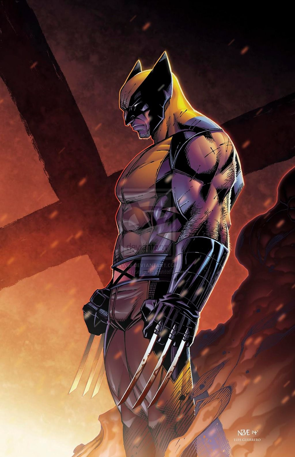 Image result for Wolverine comic