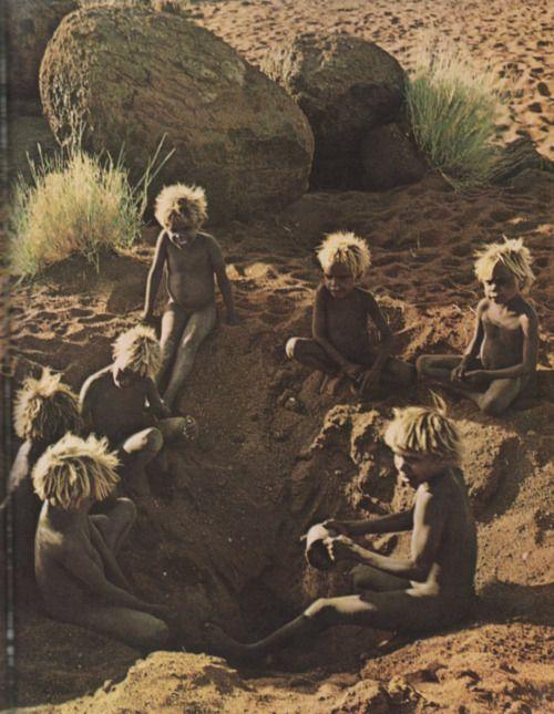 Children in Central Australia