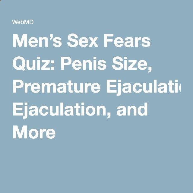 Sex quiz for men