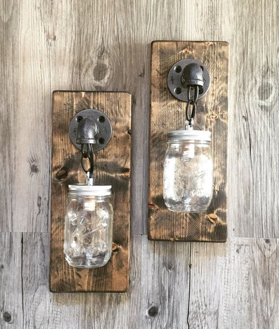 Wall Sconce Light Modern Lighting Porch Fixture Industrial Sconces Mountain Cabin Rustic
