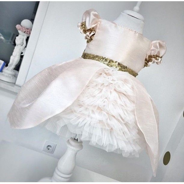Photo of Gold Water Dress- 7-9 years old Clothes and Accessories> Clothing Equi …