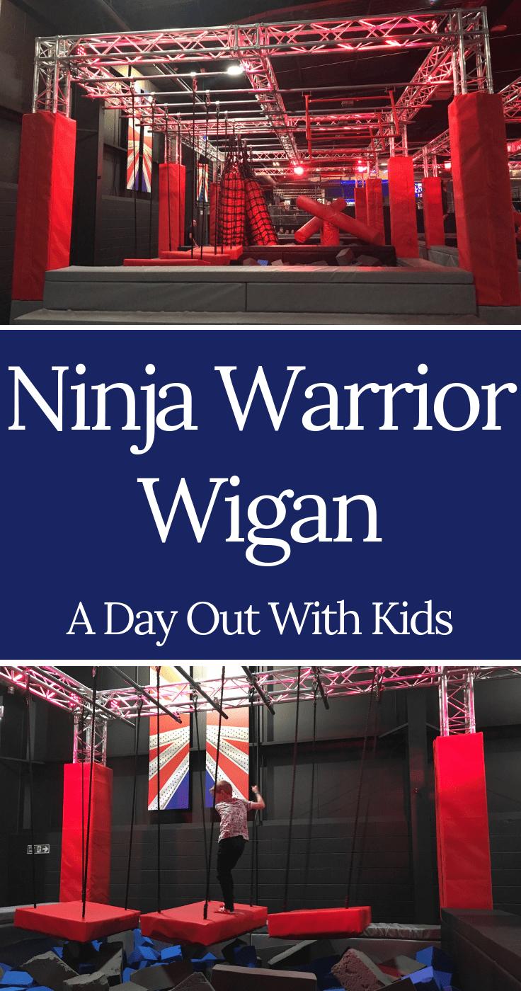 Ninja Warrior Uk Wigan Review Ninja Warrior Wigan Days Out With Kids In 2020 Days Out With Kids Wigan Ninja Warrior