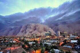 Dust Storm Phoenix Az 2011