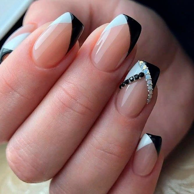 Fancy French Manicure Designs | NailDesignsJournal.com