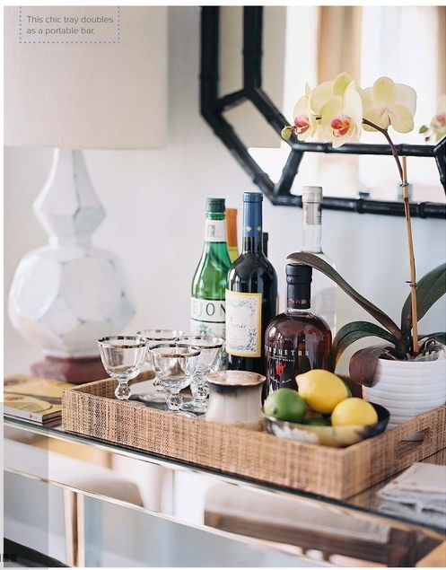 Bar cart ideas for the home   Bar carts, Small spaces and Bar