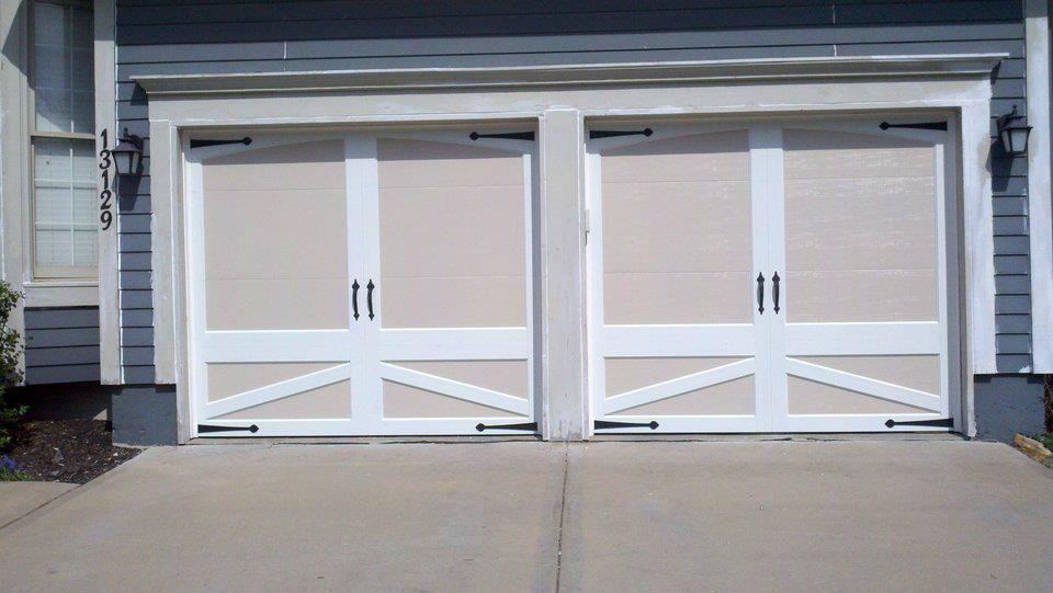 Clopay Coachman Collection Two Toned Carriage Style Steel Insulated Garage Doors Garage Doors Carriage House Doors Doors