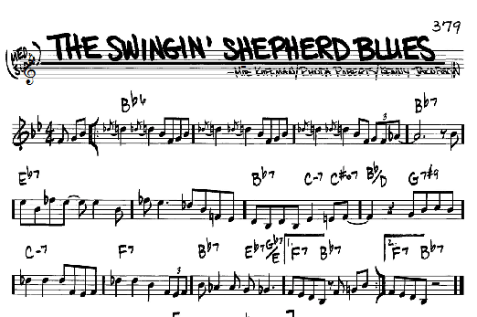 Swinging shepard blues b side