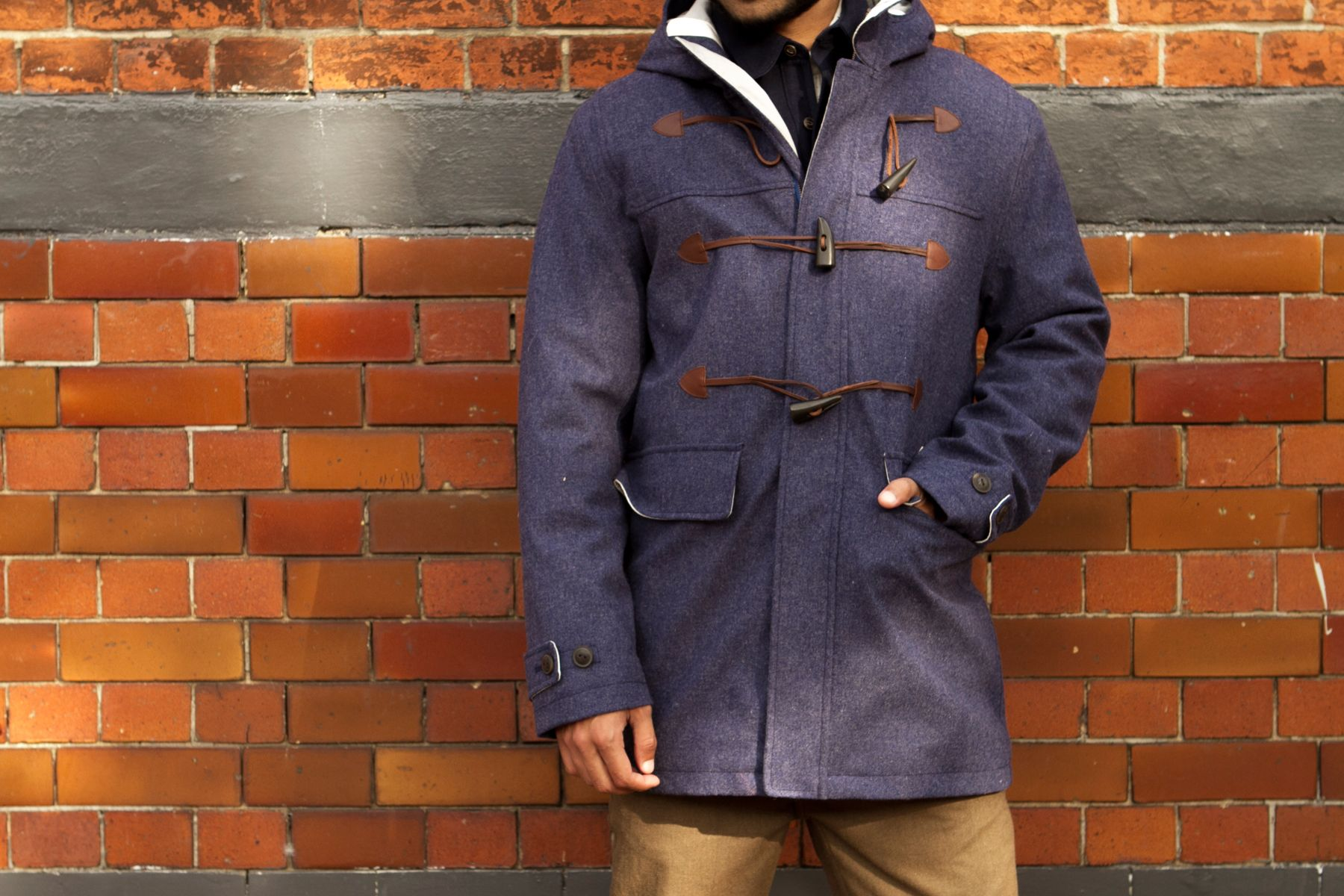 Mens Waterproof Duffle Coat - Sm Coats