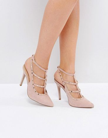 New Look Studded Strappy Heeled Shoe GVWqDsSY9v