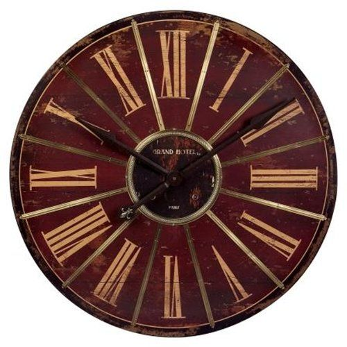 Imax Corp 16077 Large Red Wall Clock