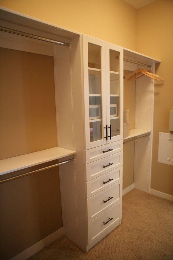 Res 1 Optional Closet Organizer We Feature An Optional Deluxe Closet Organizer System In