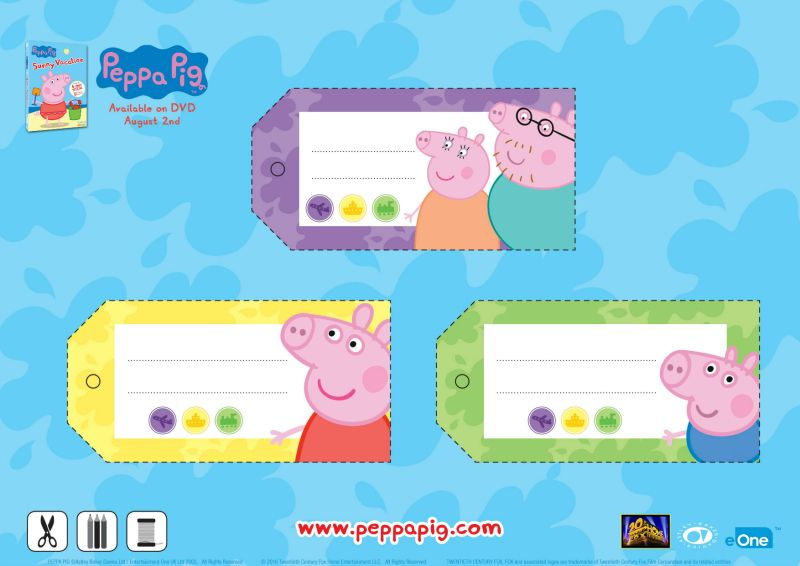 Free Peppa Pig Printable Gift Tags Peppa Pig Gifts, Gift Tags Printable, Peppa  Pig Christmas Gifts