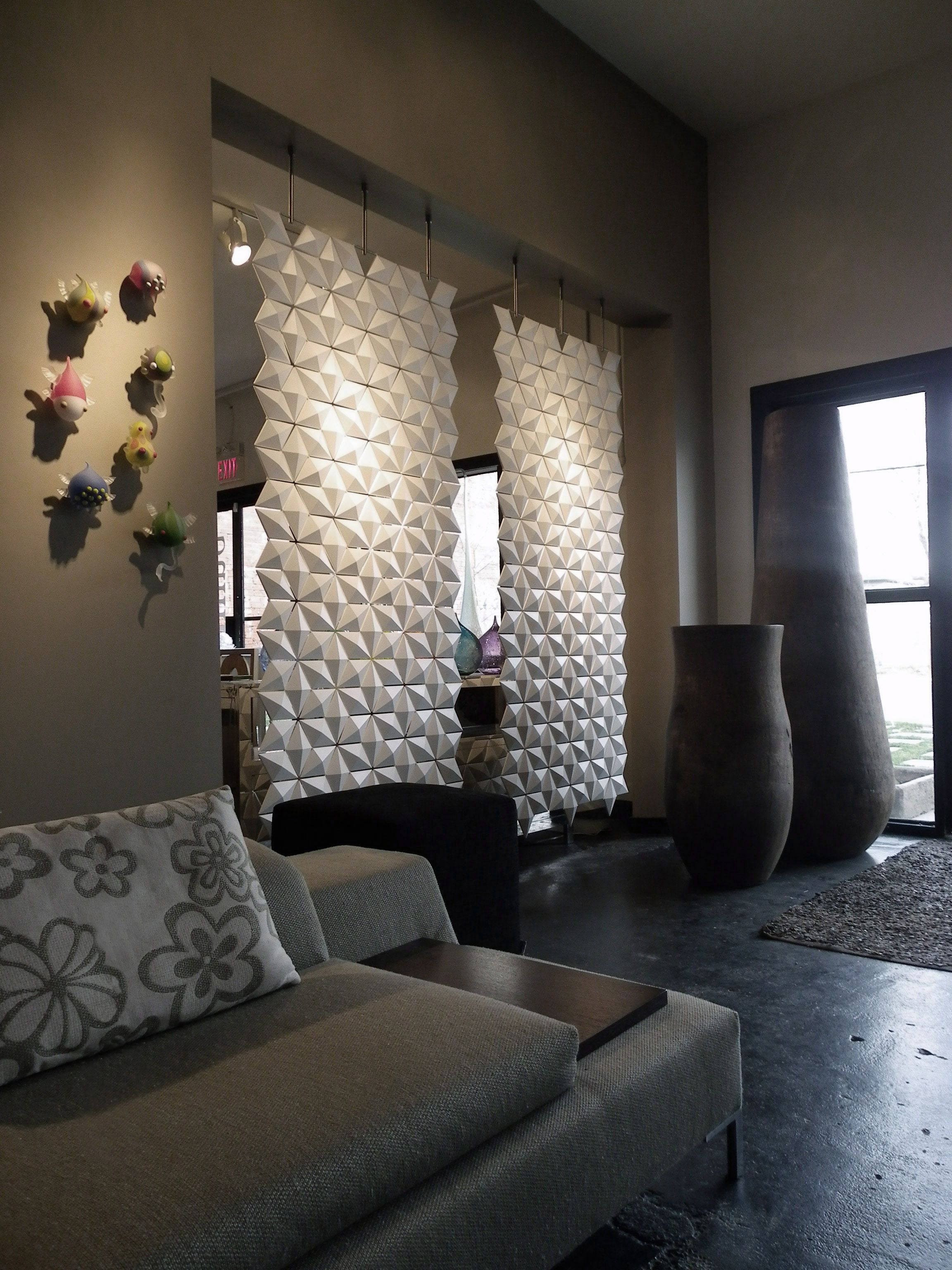 Two Room Dividers Combined Twice As Nice Divider Showroom and
