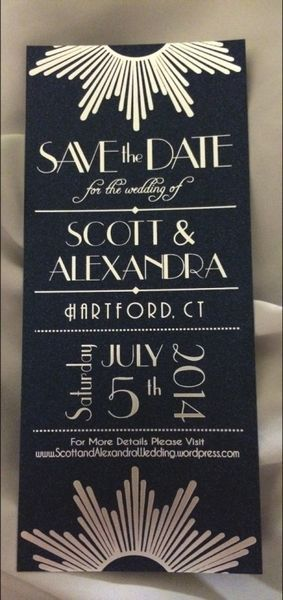 Wedding invitation (in CT!)