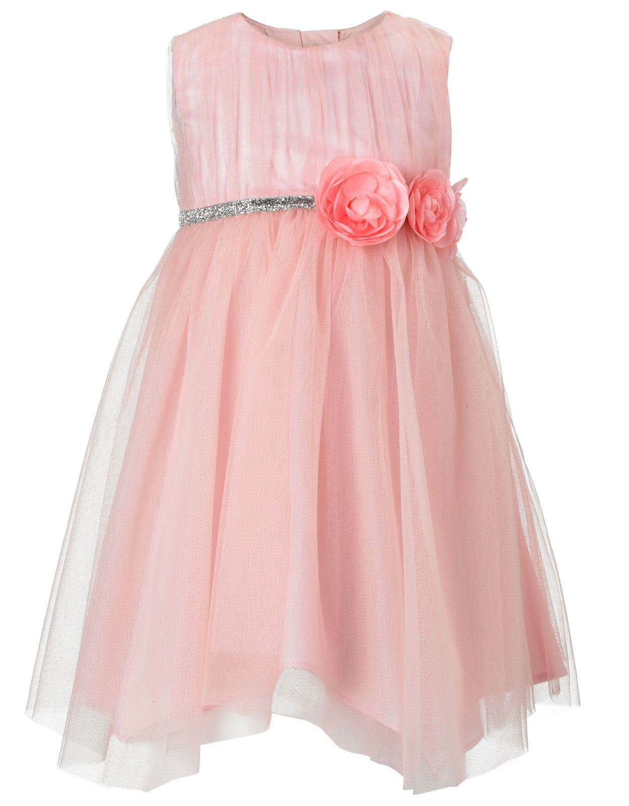 Buy Baby Girl - Baby Valentina Glitter Waistband Dress (Pink ...
