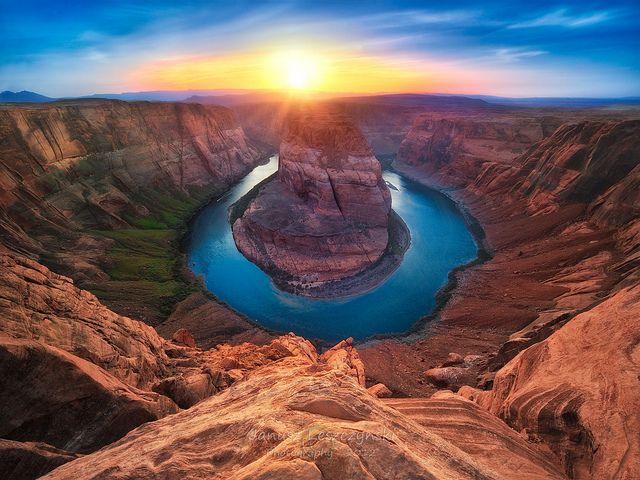 Horseshoe Bend of Colorado River – Page Arizona | River trip, Yellow stone,  Yellowstone tours