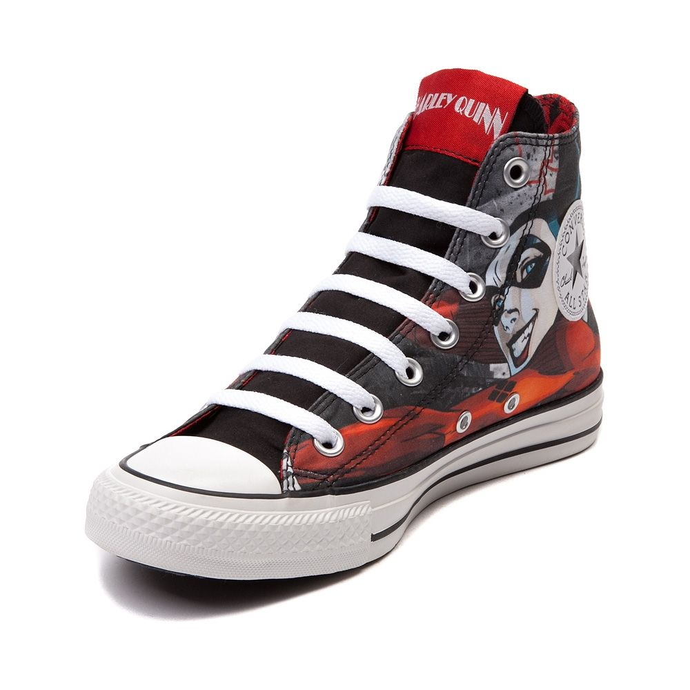 c0daea3be221 Converse Chuck Taylor All Star Hi Harley Quinn Sneaker. Journeys Mens Shoes