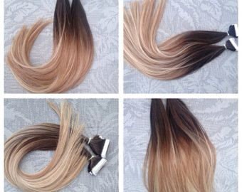 5 star ombre balayage european remy tape in seamless weft hair 5 star ombre balayage european remy tape in seamless weft hair extensions 40pcs pmusecretfo Images