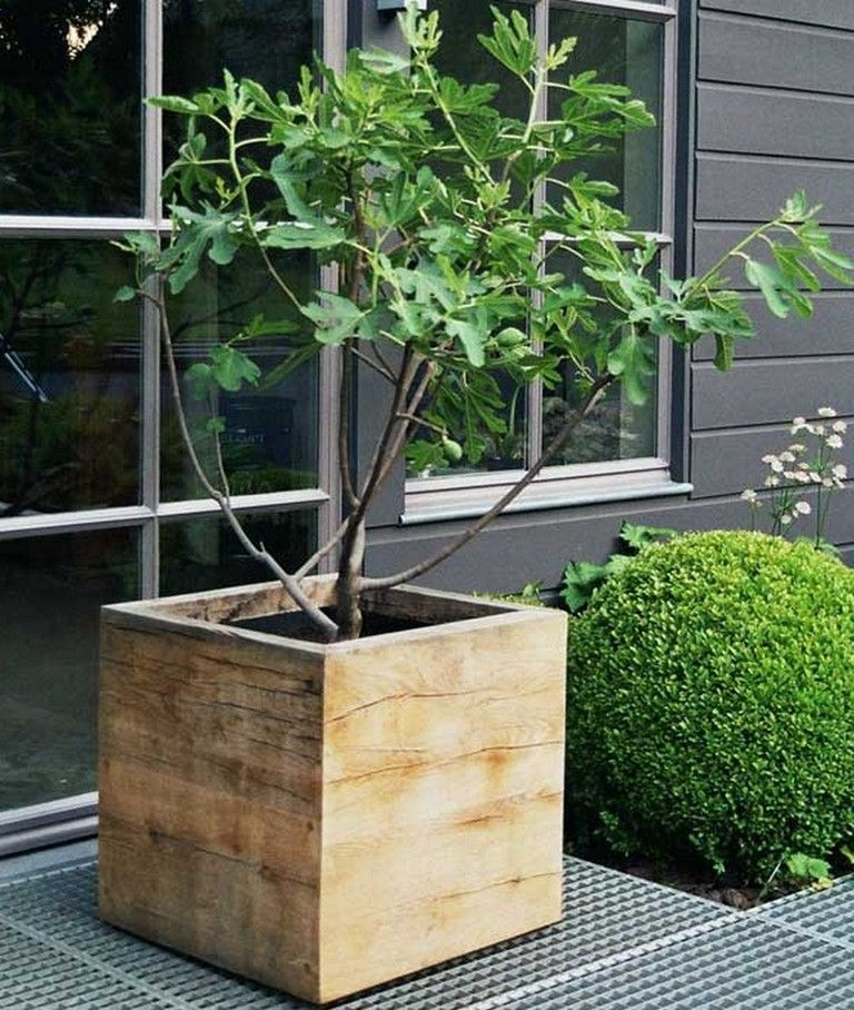 30 Admirable Diy Wood Planter Box Ideas For Your Amazing Garden Gardening Garden Gardendesign Gardenid Diy Wood Planters Diy Wood Planter Box Planter Boxes