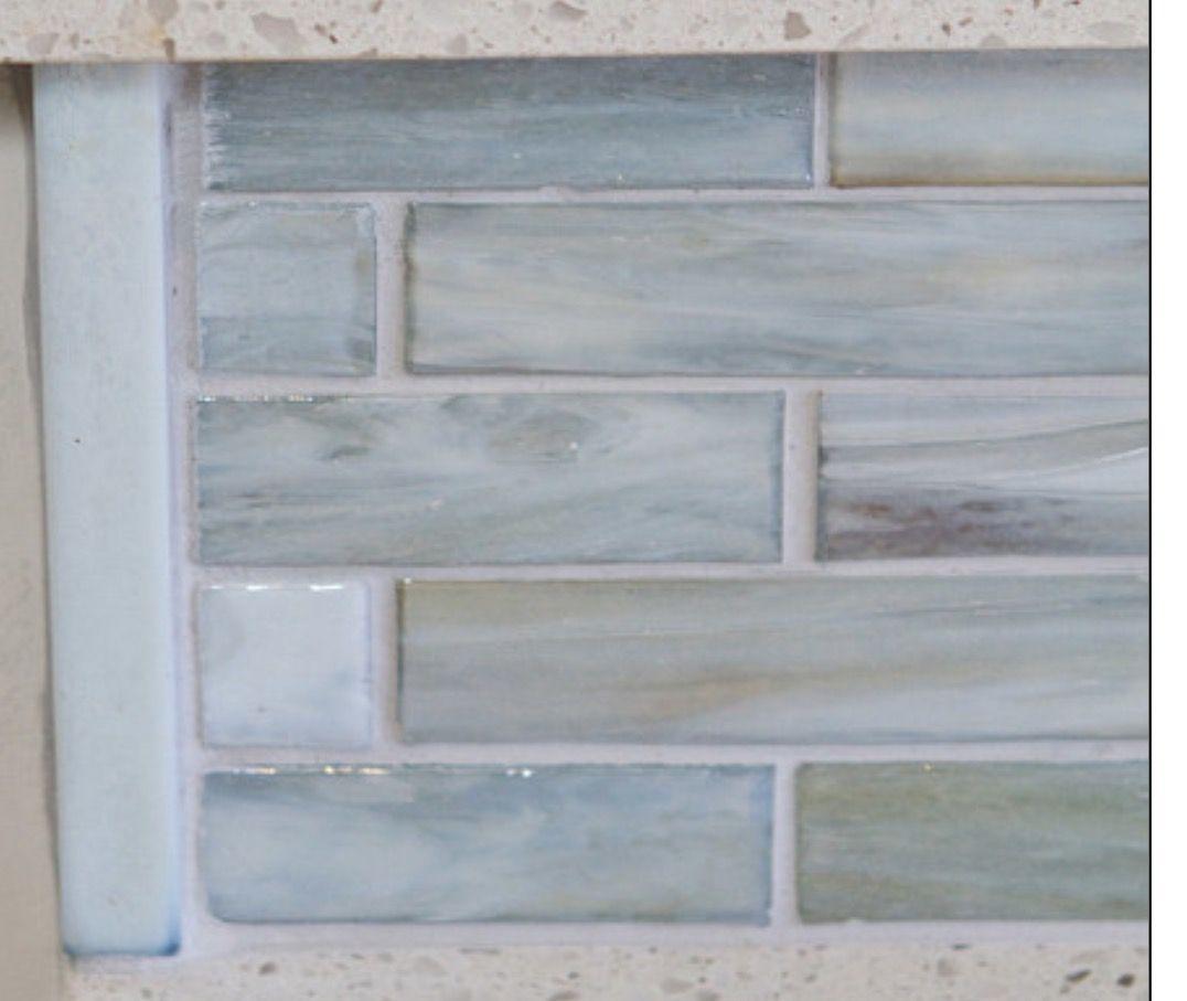 Lunada Bay Tile Agate Gl Lucca Pearl Backsplash Kitchen