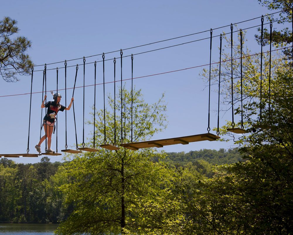 Tree Top Adventure ~ Callaway Gardens Resort is super fun and recommend it!!